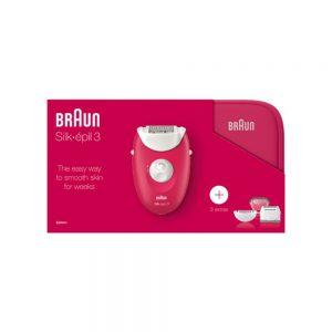 Depiladora Braun Silk-Epil 3 SE 3-415GS
